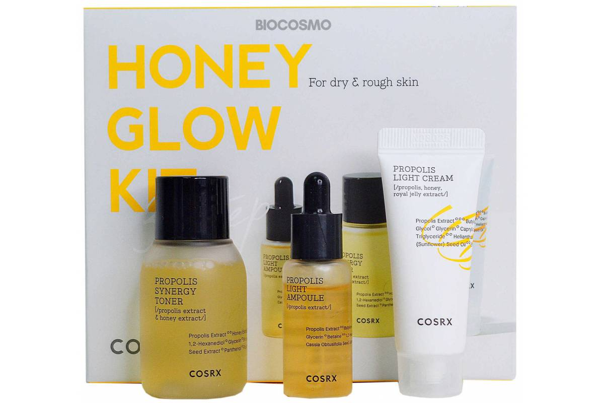 Набор миниатюр для лица с прополисом COSRX Honey Glow Propolis Trial Kit