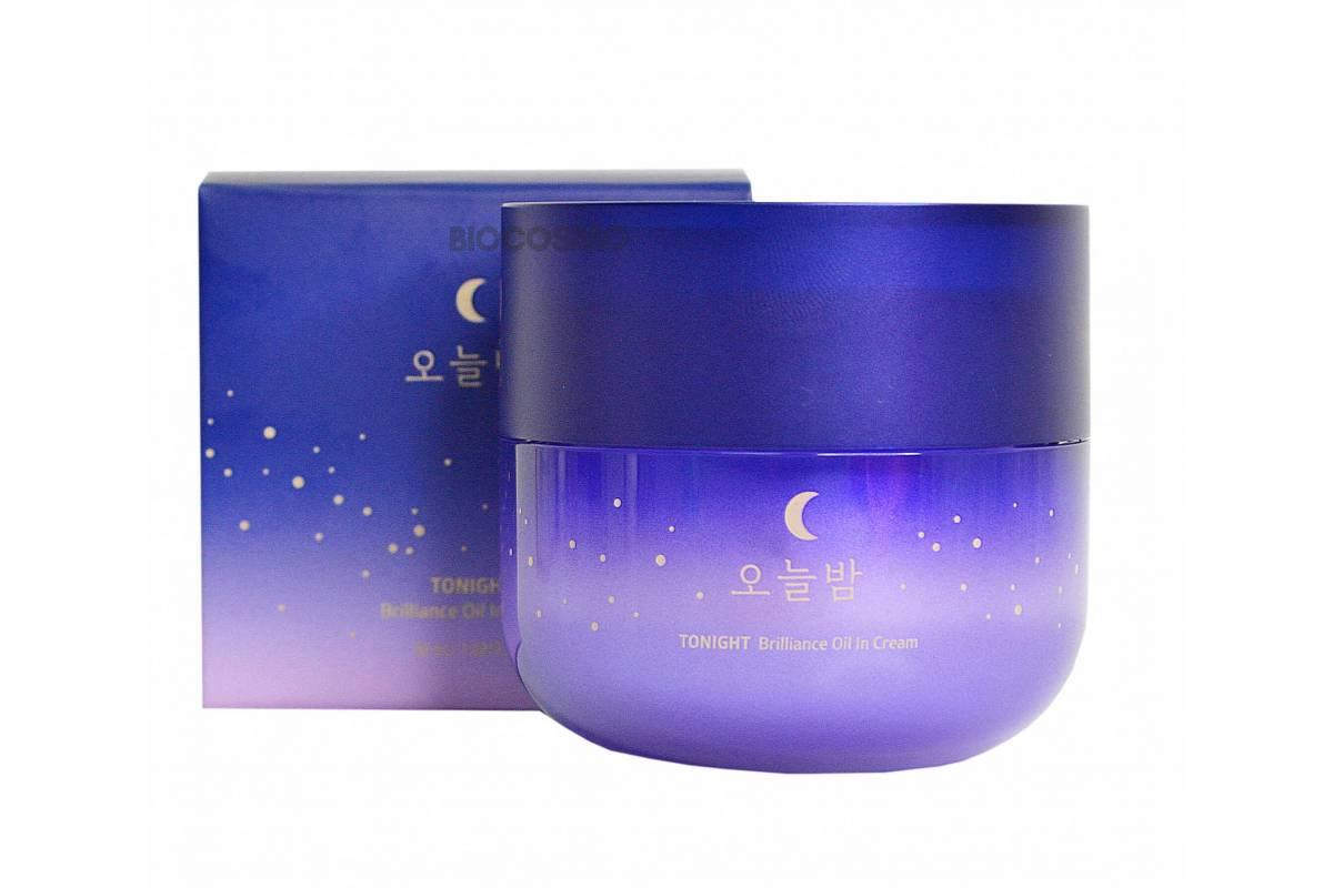 Ночной крем для лица Missha Tonight Brilliance Oil In Cream - 50 мл