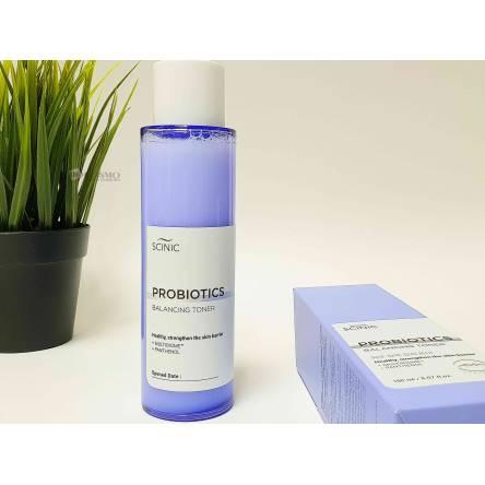Восстанавливающий тонер с пробиотиками Scinic Multibiome™ Probiotics Balancing Toner - 150 мл