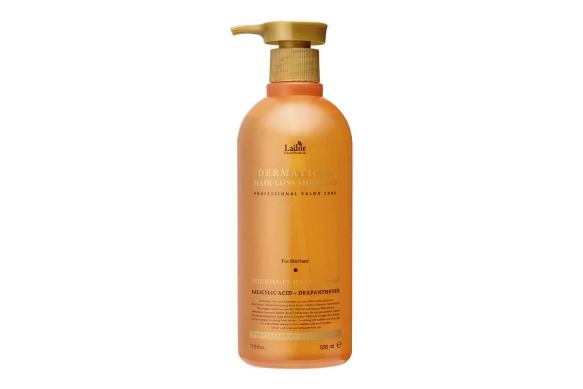 Укрепляющий шампунь для волос Lador Dermatical Hair-Loss Shampoo For Thin Hair - 530 мл