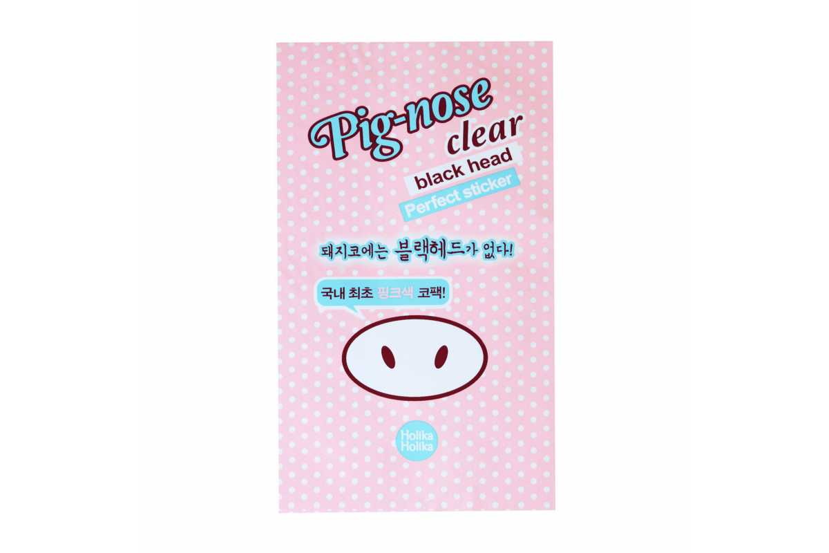Полоска от черных точек Holika Holika Pig-Nose Clear Black Head Perfect Sticker - 1 шт