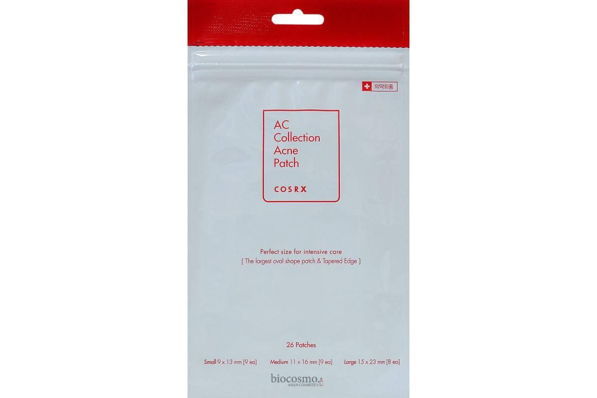 Антибактериальные патчи от прыщей COSRX AC Collection Acne Patch - 26 шт