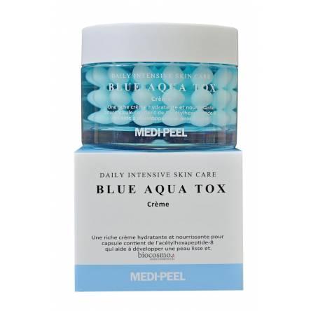 Крем для лица с пептидными капсулами Medi-Peel Blue Aqua Tox Creme - 50 гр