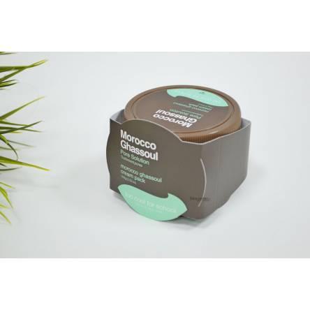 Очищающая маска для лица с марокканской глиной Too Cool For School Morocco Ghassoul Cream Pack - 100 мл