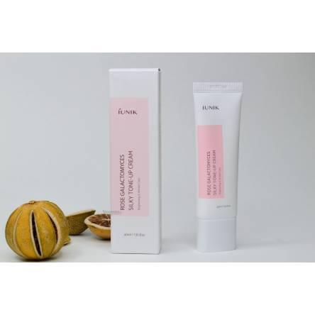 Крем для улучшения тона кожи iUNIK Rose Galactomyces Silky Tone Up Cream - 40 мл