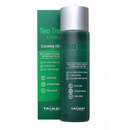 Успокаивающий тонер с чайным деревом и центеллой TRIMAY Tea Tree & Tiger Leaf Calming Toner - 210 мл