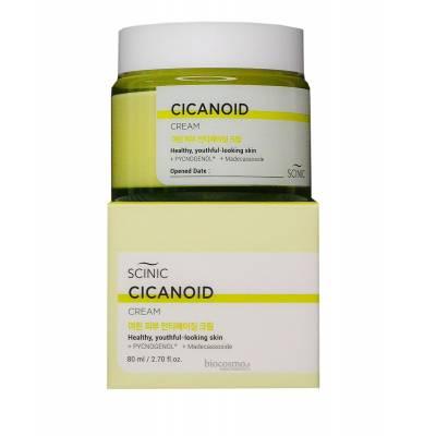 Антивозрастной крем для лица с циканоидом Scinic Cicanoid Cream - 80 мл