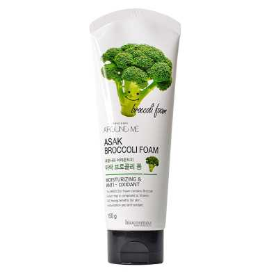 Пенка для умывания c брокколи Welcos Around me Broccoli Foam - 150 гр