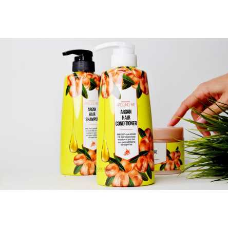 Кондиционер для волос c аргановым маслом WELCOS Kwailnara Around Me Argan Hair Conditioner - 500 мл