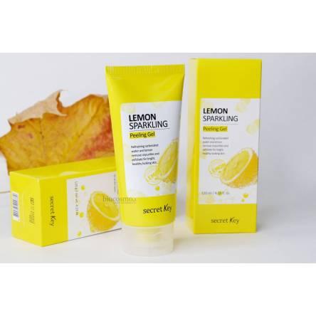 Лимонный пилинг-скатка SECRET KEY Lemon Sparkling Peeling Gel - 120 мл