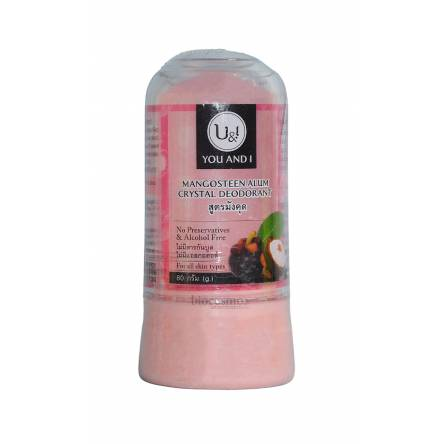 Дезодорант кристалл мангостин You & I Alum Crystal Deodorant Mangosteen - 80 гр