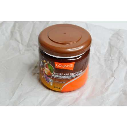 Маска для сияния волос Lolane Natura Hair Treatment For Diamond Shine Booster Macadamia Butter - 250 гр