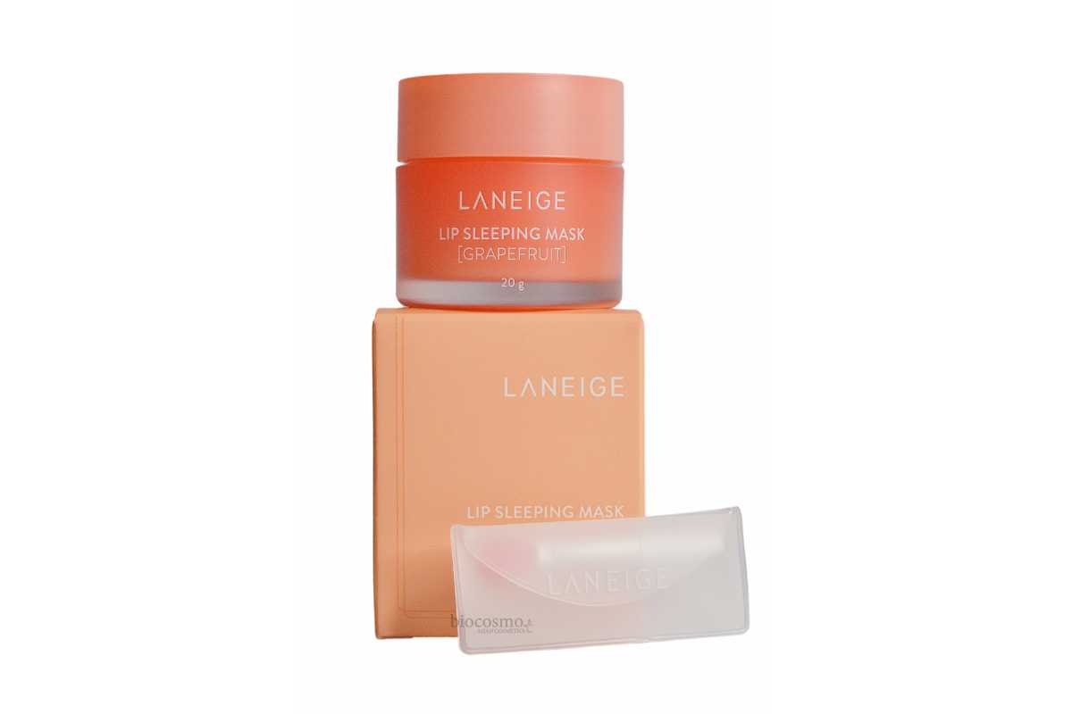 Ночная маска для губ с грейпфрутом Laneige Lip Sleeping Mask Grapefruit - 20 мл
