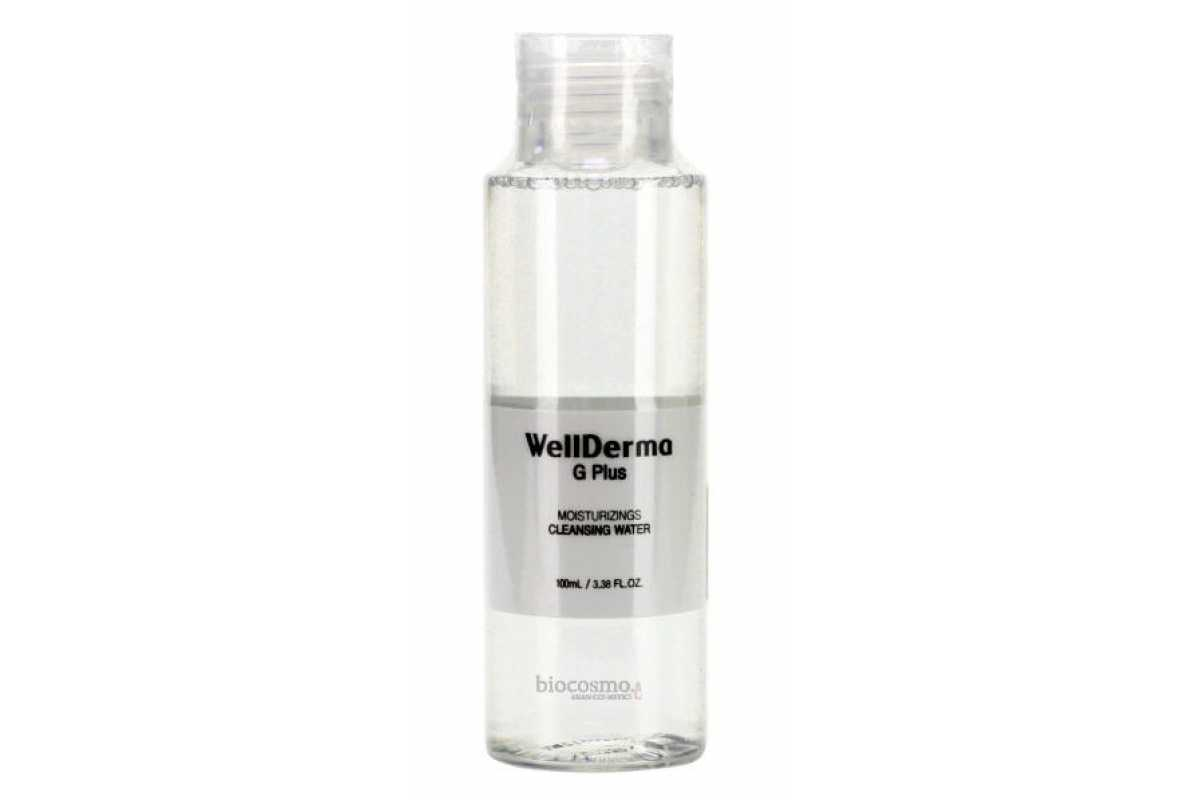 Очищающая вода для снятия макияжа Wellderma G Plus Moisturizing Cleansing Water - 100 мл