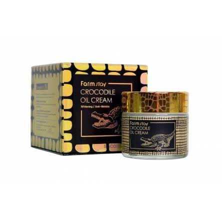 Крем для лица с крокодильим жиром FARMSTAY Crocodile Oil Cream - 50 мл