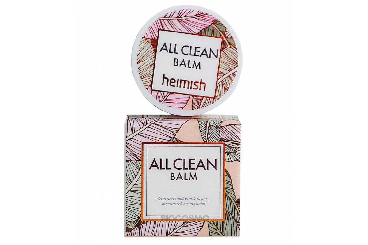Миниатюра очищающего бальзама для снятия макияжа Heimish All Clean Balm - 7 гр