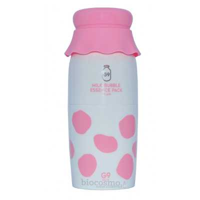 Кислородная эссенция с молочными протеинами G9Skin Milk Bubble Essence Pack Plain - 50 мл