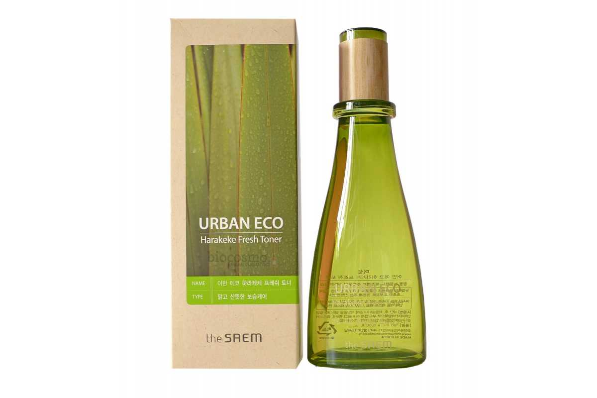 Освежающий тоник для лица The Saem Urban Eco Harakeke Fresh Toner - 180 мл