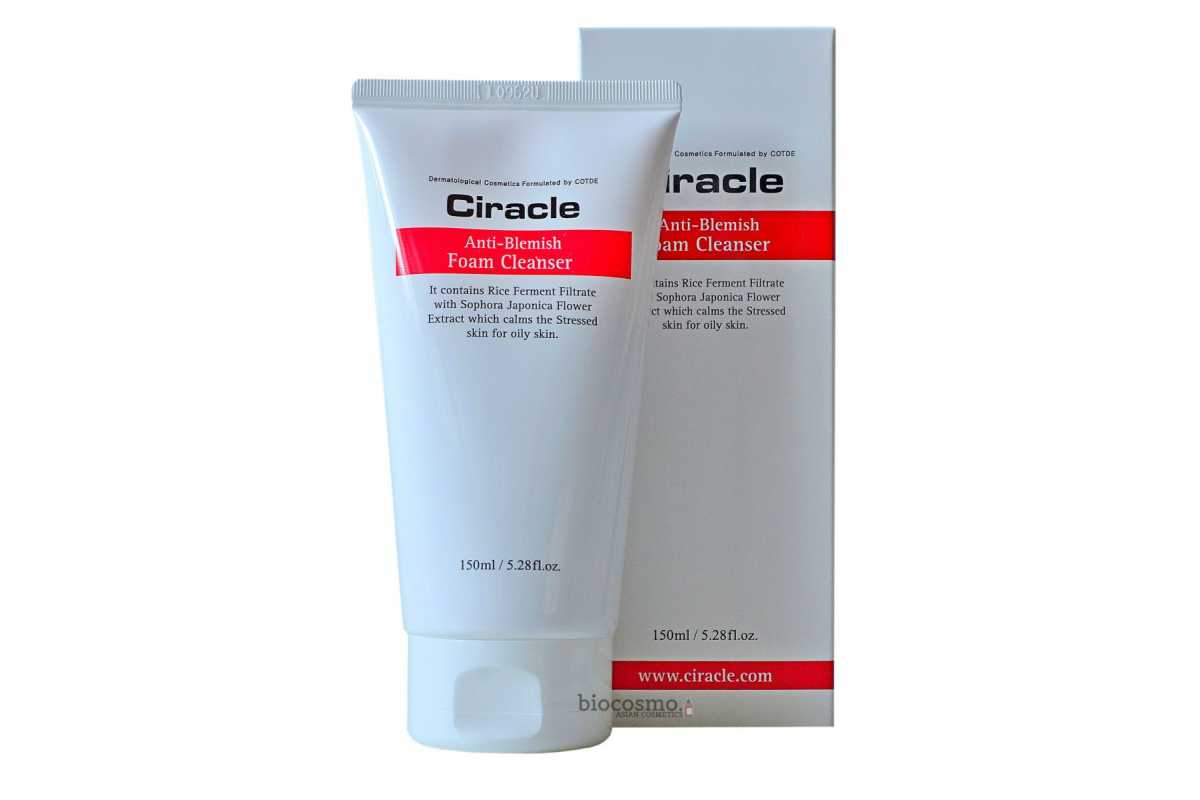 Пенка для умывания для проблемной кожи CIRACLE Anti-Blemish Foam Cleanser - 150 мл