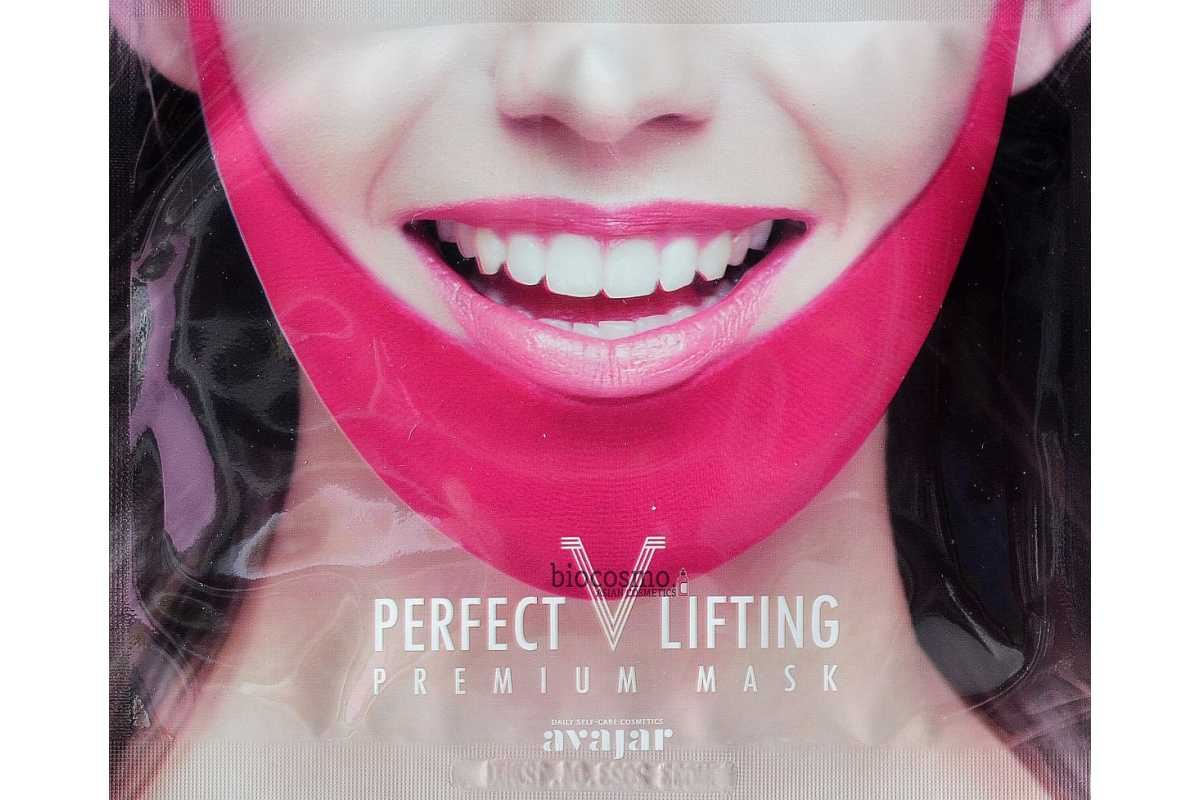 Лифтинг-маска для подбородка Avajar Perfect V Lifting Premium Mask - 11 гр