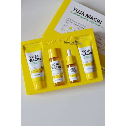 Набор для выравнивания тона Some By Mi Yuja Niacin 30 Days Brightening Starter Kit