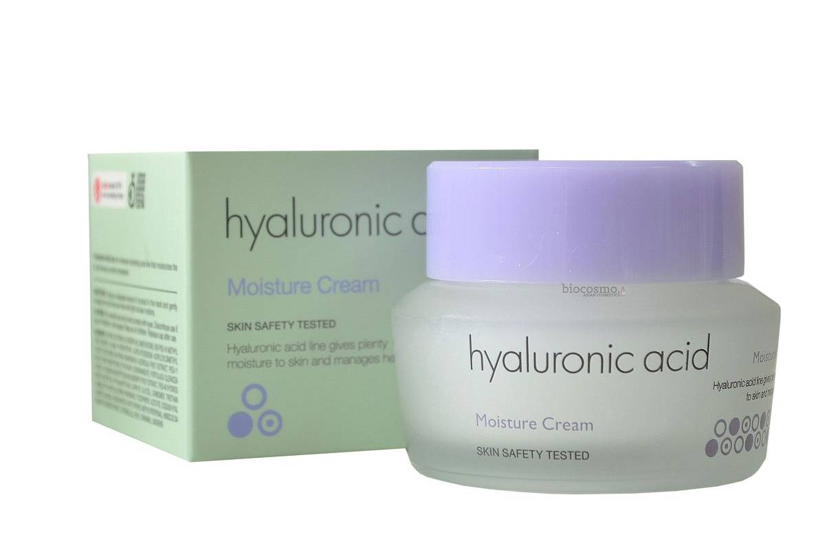 Крем для лица с гиалуроновой кислотой It's Skin Hyaluronic Acid Moisture Cream - 50 мл