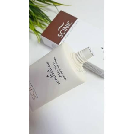 ББ крем с улиточным муцином Scinic Snail Matrix BB Cream SPF50+PA+++ - 40 мл
