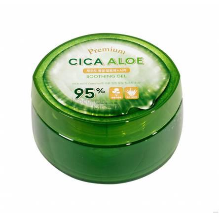 Успокаивающий гель для тела Missha Premium Cica Aloe Soothing Gel 95% - 300 мл