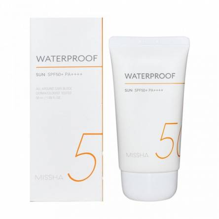 Солнцезащитный крем Missha All Around Safe Block Water Proof Sun SPF50+ PA++++ - 50 мл