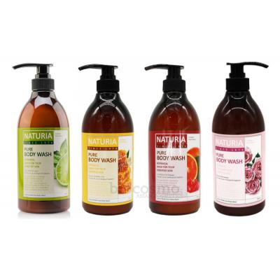 Гель для душа c натуральными экстрактами EVAS Naturia Pure Body Wash - 750 мл