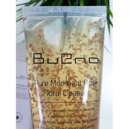Гель для умывания с лепестками роз Bueno Pure Moonlight Rose Floral Cleanser - 80 мл