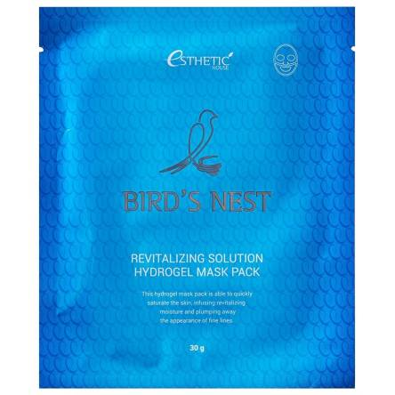 Гидрогелевая маска Esthetic House Bird's Nest Revitalizing Hydrogel Mask Pack - 28 мл