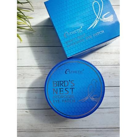Гидрогелевые патчи для глаз с ласточкиным гнездом Esthetic House Bird's Nest Hydrogel Eye Patch - 60 шт