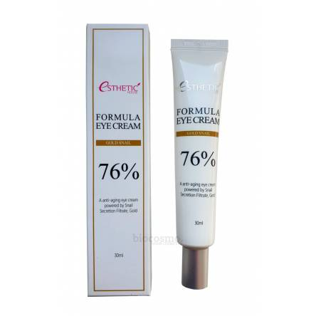 Крем для век c муцином улитки Esthetic House Formula Eye Cream Gold Snail - 30 мл