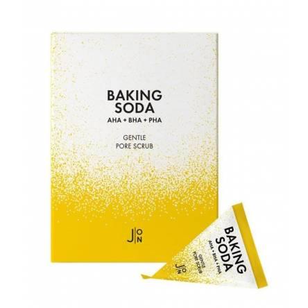 Содовый скраб-пирамидка для очищения пор J:ON Baking Soda Gentle Pore Scrub - 5 гр