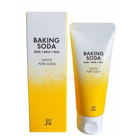 Содовый скраб для очищения пор J:ON Baking Soda Gentle Pore Scrub - 50 гр