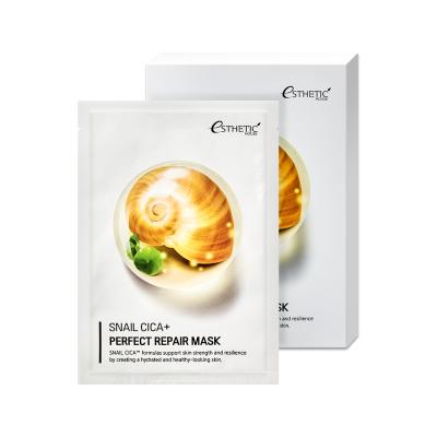 Тканевая маска для лица с муцином улитки Esthetic House Snail Cica + Perfect Repair Mask - 25 мл