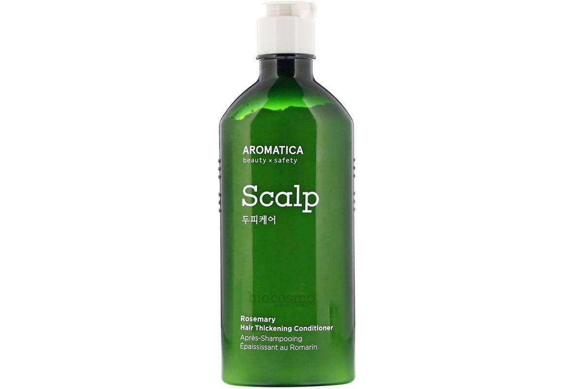 Укрепляющий кондиционер без силиконов с розмарином AROMATICA Rosemary Hair Thickening Conditioner - 250 мл