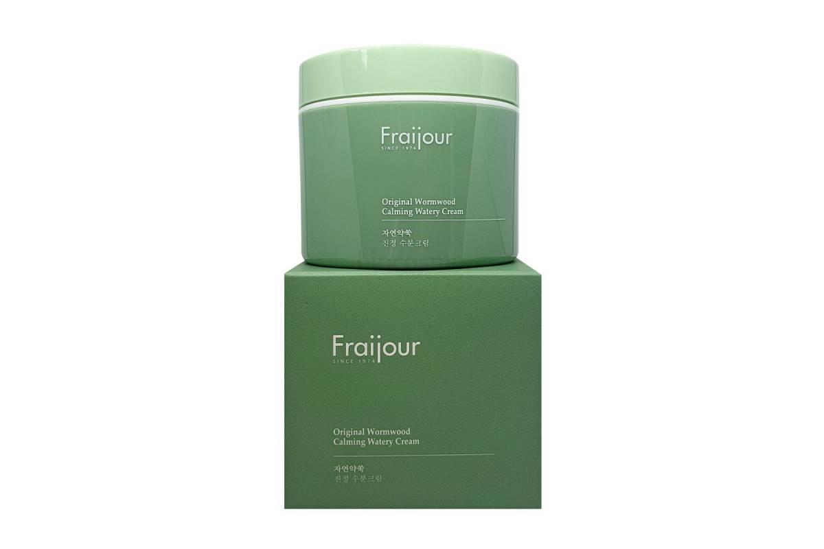 Крем для восстановления кожи с полынью EVAS Fraijour Original Herb Wormwood Calming Watery Cream - 100 мл