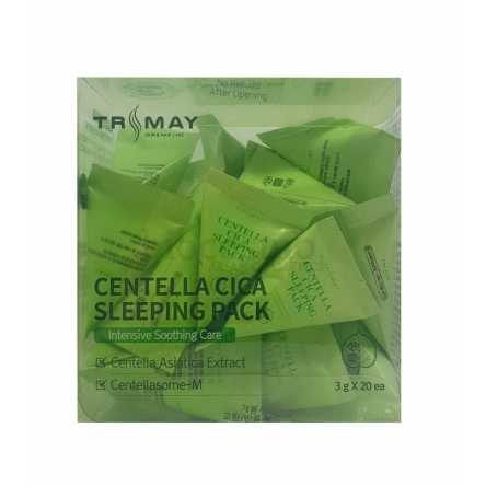 Успокаивающая ночная маска с центеллой Trimay Centella Cica Sleeping Pack - 3 гр