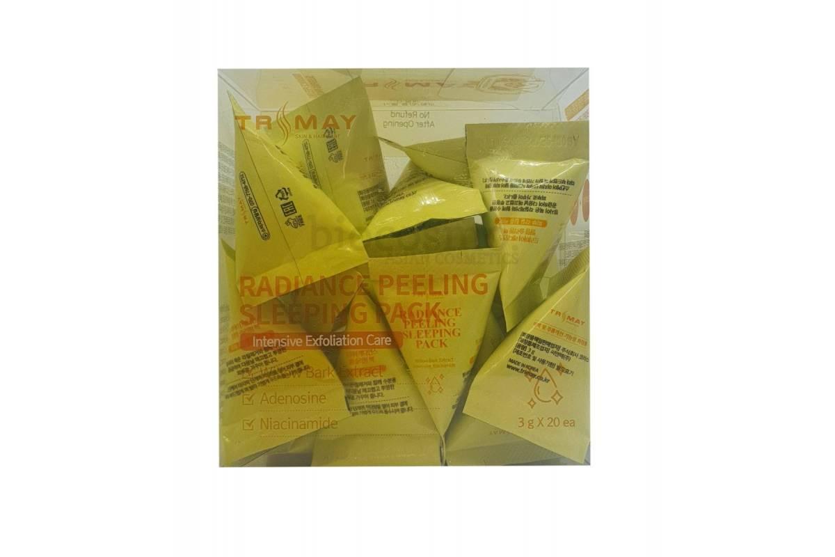 Ночная пилинг-маска с ниацинамидом Trimay Radiance Peeling Sleeping Pack - 3 гр