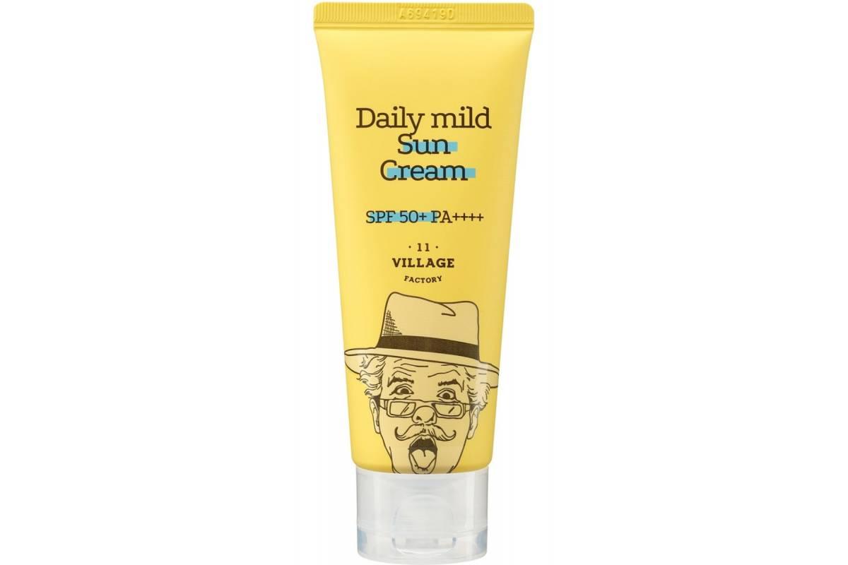 Ежедневный солнцезащитный крем Village 11 Factory Daily Mild Sun Cream SPF 50+ PA++++ - 25 мл