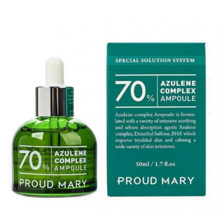 Успокаивающая сыворотка с азуленом Proud Mary Azulene Ampoule - 50 мл