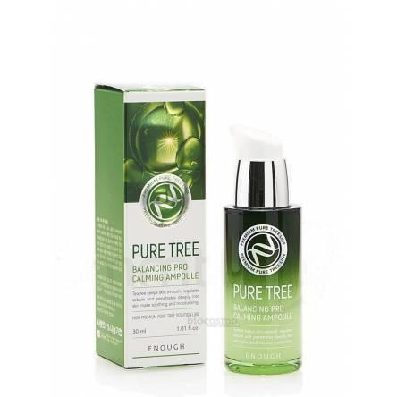 Успокаивающая сыворотка с чайным деревом Enough Pure Tree Balancing Pro Calming Ampoule - 30 мл
