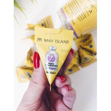 Сыворотка с коллагеном для упругости кожи May Island 7 Days Highly Concentrated Collagen - 3 мл