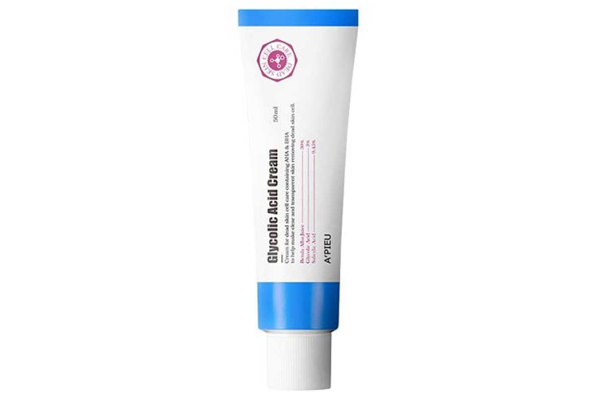 Крем для лица с кислотами A'Pieu Glycolic Acid Cream - 50 мл