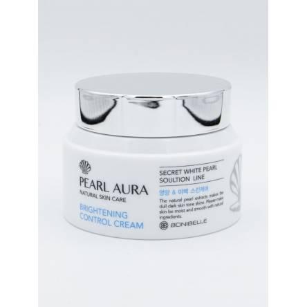 Крем для лица с жемчугом BoniBelle Pearl Aura Natural Skin Care - 80 мл