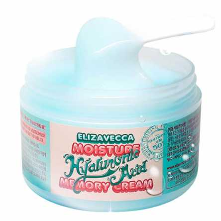 Гиалуроновый крем-пудинг Elizavecca Moisture Hyaluronic Acid Memory Cream - 100 мл