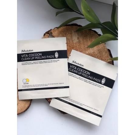 Пилинг-пэд с шелком JMsolution Vita Cocoon Clean Up Peeling Pads - 7 гр