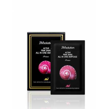 Сыворотка с улиткой JMSolution Active Pink Snail All in one Ampoule Prime - 2 мл